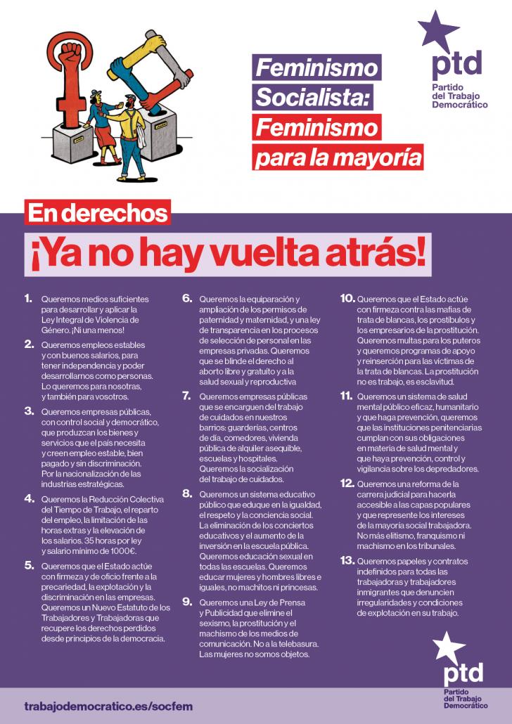 feminismo socialista